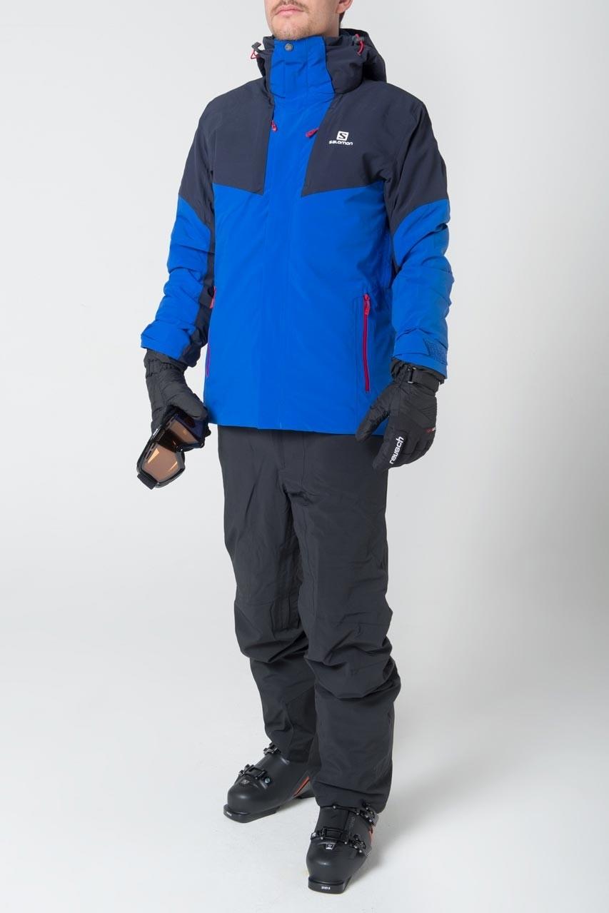 veste ski salomon speed ii jacket homme bleu