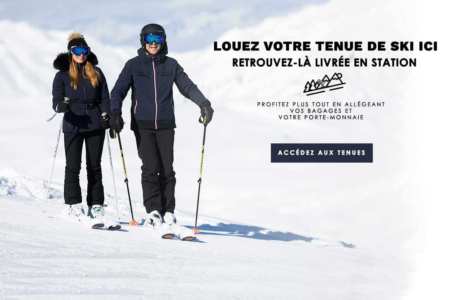 location vêtements de ski