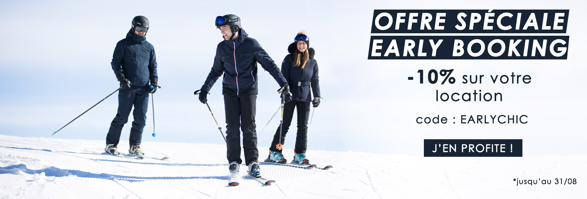 Offre early booking ski