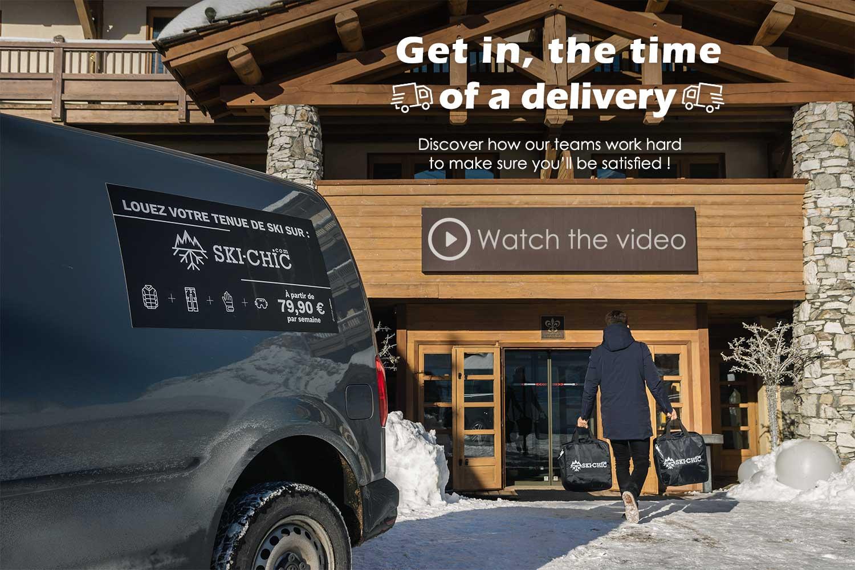 Delivery Ski-chic