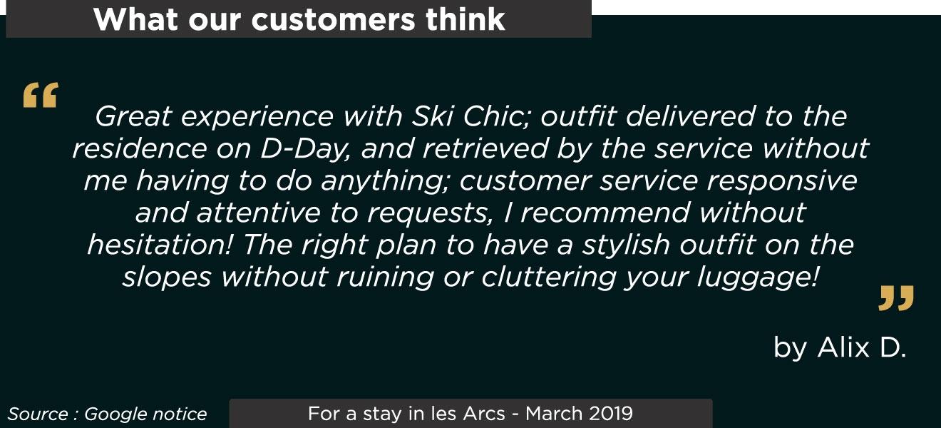 Customer notices