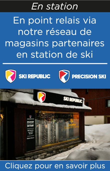 Point relais Ski Republic ou Precision Ski